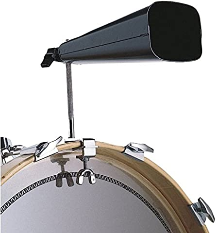 Latin Percussion LP338 Bass Drum Cowbell Mounting Bracket - Bass Drum Hoop Mount Cowbell