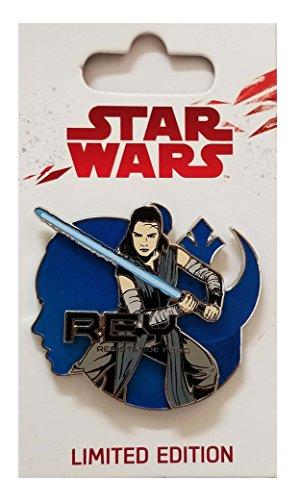 WDW Trading Pin - Star Wars - The Last Jedi - Rey Resistance Hero