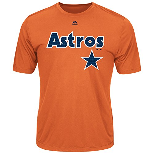 VF Houston Astros Youth Evolution Crew Neck (Medium)