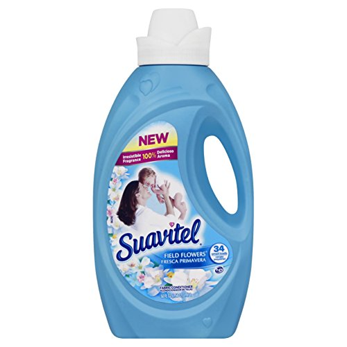 Suavitel Liquid Fabric Softener, Field Flowers, 50 Ounce ()