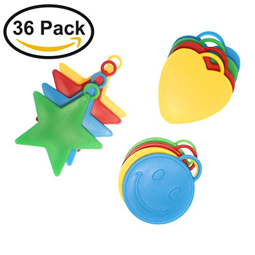 (36-Pack) Skipsi 8g Balloon Weights - Mixed Colors