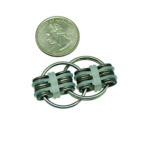 Flippy Chain Fidget Stress Reducer Toy. Extra Grip and Improved Design. Superior Stability, Quietness, and Feel. By SpinLabz -
