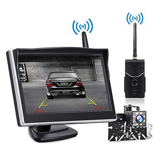 TOGUARD Digital Wireless Backup Camera Kit, 5