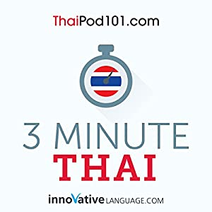 3-Minute Thai Audiobook