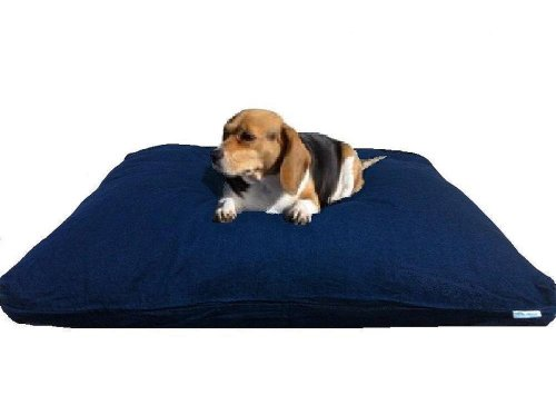 Large 40″X35″ Orthopedic Memory Mix Foam Dog Bed Pillow with Heavy Duty Waterproof Denim Pet Bed 2 Layer Covers, My Pet Supplies