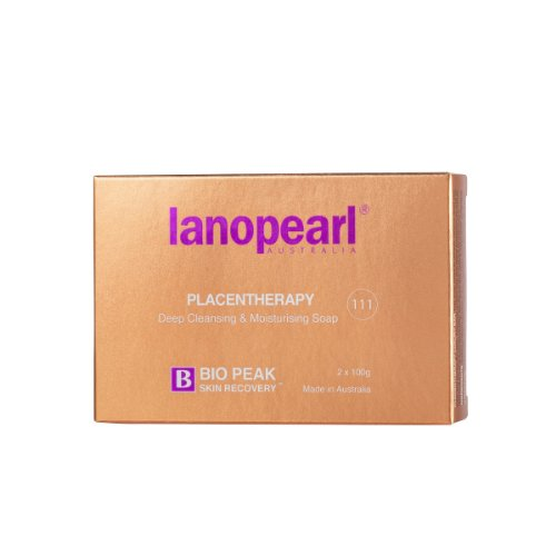 Lanopearl Placentherapy Deep Cleansing & Moisturising Soap for all skin types 100 g