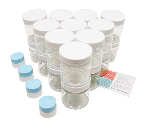 Round 8 Oz Plastic Jar - 5