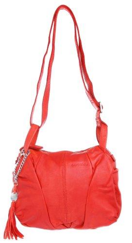 comma, Borsa a mano donna Rosso rosso Länge 43 cm, Breite 32 cm, Tiefe 10 cm
