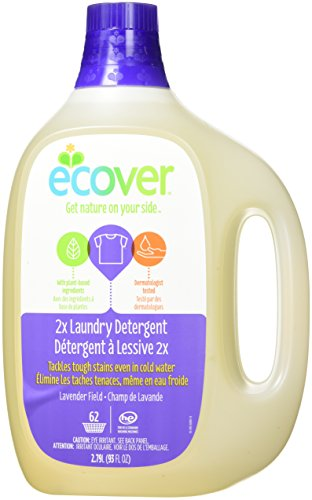 Natural Laundry Ecover (Ecover Laundry Detergent, Lavender Field, 93 Ounce (Pack 4))