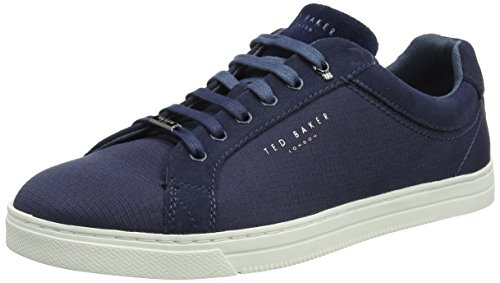 Ted Baker Klemes, Sneaker Uomo Blu (Dark Grey)