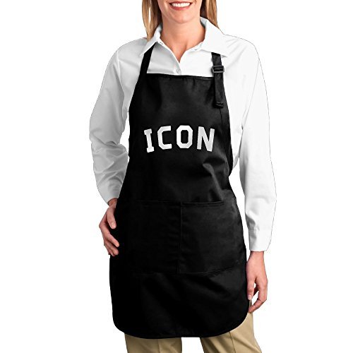 [Icon Ariana Grande Side To Side Kitchen Aprons For Women Men,Cooking Apron,bib Apron With Pockets] (Zoolander Costume Design)