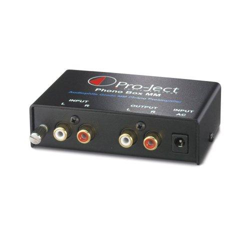 Pro-Ject Audio - Phono Box MM - MM Phono Pre-amplifier - Black