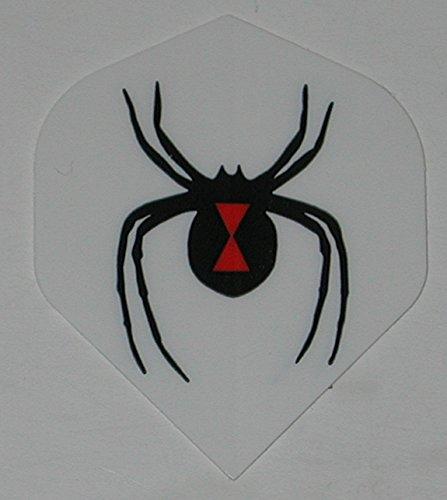 US Darts 5 sets (15 flights) BLACK WIDOW, SPIDER Standard Dart (5 Black Widow)