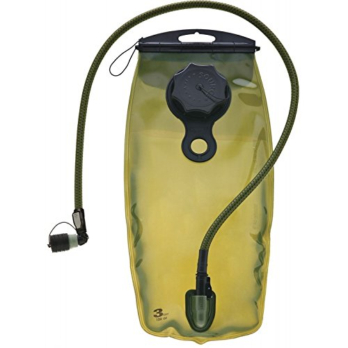 Source Tactical WXP 3-Liter Hydration Reservoir Leakproof Antimicrobial System with Storm Valve, Olive by Source
