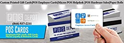 25 PCAmerica, Server Swipe Cards - FREE SAME DAY PRIORITY SHIPPING - POS-Depot Brand Cards - Expect The Best!