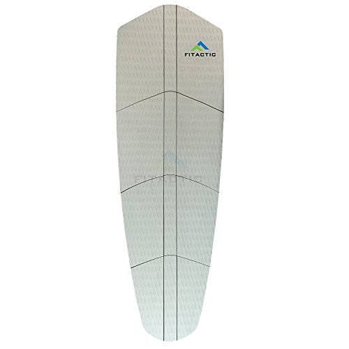 FITACTIC Universal Large 12-Piece Traction Pad Grip Mat with Reinforced Adhesive for Surf, SUP Boards, Boat Decks, Kayaks, Skimboards & more