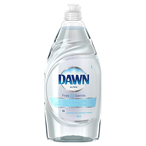 Gamble Ultra Liquid (Dawn Ultra Pure Essentials Dishwashing Liquid, Sparkling Mist, 21.6 Ounce)
