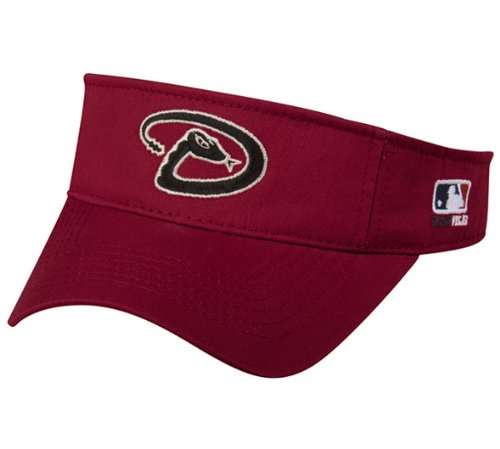 Arizona Diamondbacks Alternate Replica Jersey (MLB ADULT Arizona DIAMONDBACKS Home Red VISOR Adjustable Velcro TWILL)