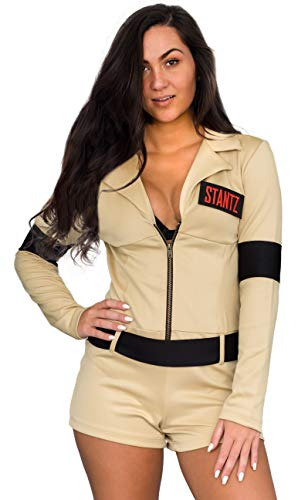 Mad Engine Ghostbusters Womens Sexy Romper Costume with