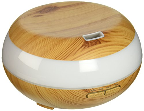 YTE DT-1513 300ml Aroma Essential Oil Wood Grain Ultrasonic Cool Mist Humidifier