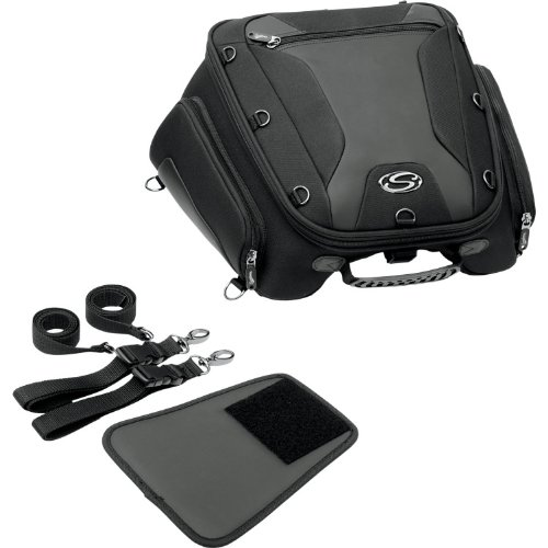 Saddlemen (Sadorumen) tail bag SPORT TUNNEL BAG (Sports tunnel bag) TS1450R Sportster / Dyna / Softail family HARLEY-DAVIDSON P-3516-0108