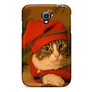 Defender Case With Nice Appearance (christmas Cats) For Galaxy S4