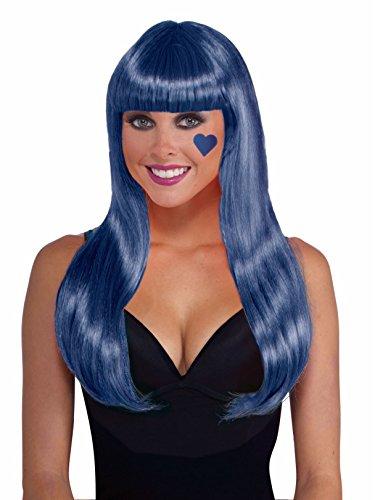 Forum Novelties Women's Long Blue Neon -