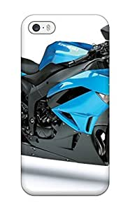 AQRwVHi3680gwaEJ DebAA Case For HTC One M8 Cover - Kawasaki Ninja Zx 6r Blue Motorcycle