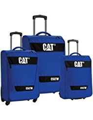 CAT C5Ltw Nested 3-Pack, True Blue, One Size