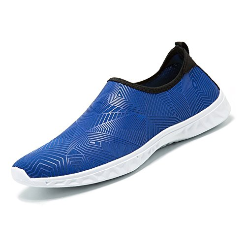 Slip Shoes Shoes HooyFeel Kids Aqua Drying Water Water Blue Quick Lightweight Women Sports On For Mesh Sole Men qp4Ap