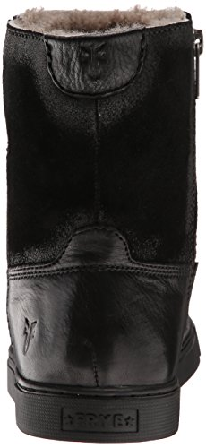 invierno shearlingsvlos FRYE Botas corto de Black Mujer Gemma 71081 qwwYtS