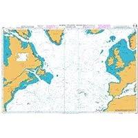 UKHO BA Chart 4011: North Atlantic Ocean Northern Part