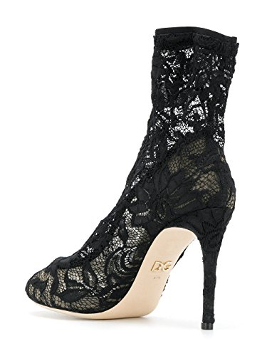 Dolce de CT0410AG69080999 Botines para mujer negros Gabbana E poliamida rw1Cqr