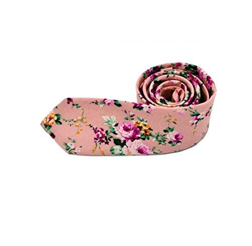 Classic Floral Tie - 6