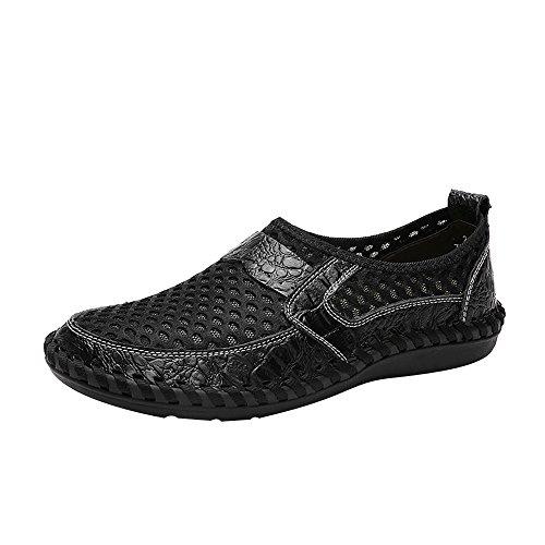 Mesh Pédale Respirant Chaussures Occasionnels 39 Peas De Oysohe Pour Noir Sport Hommes wqS0W8nU