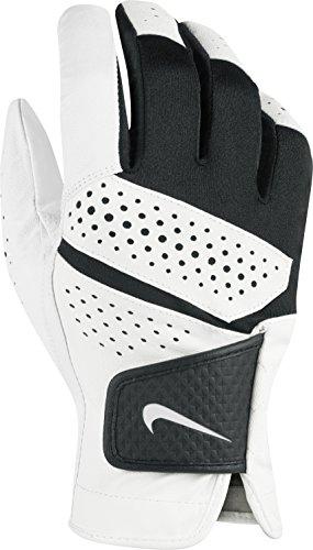 Nike Tech Extreme VI Golf Gloves 2019 Regular White/White/Black Fit to Right Hand Medium