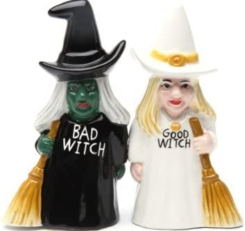 Halloween Witch Salt and Pepper Shakers