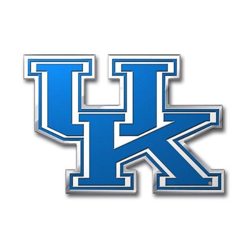 (Casey's Kentucky Wildcats Die-Cut NCAA Metal Auto Emblem)