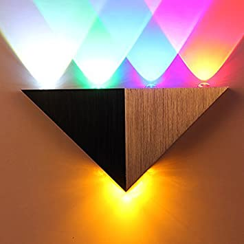 Amazon multi colour modern 5w high power 5 led up down multi colour modern 5w high power 5 led up down wall lamp spot mozeypictures Choice Image
