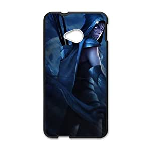HTC One M7 Cell Phone Case Black Defense Of The Ancients Dota 2 DROW RANGER 003 KQ3481723