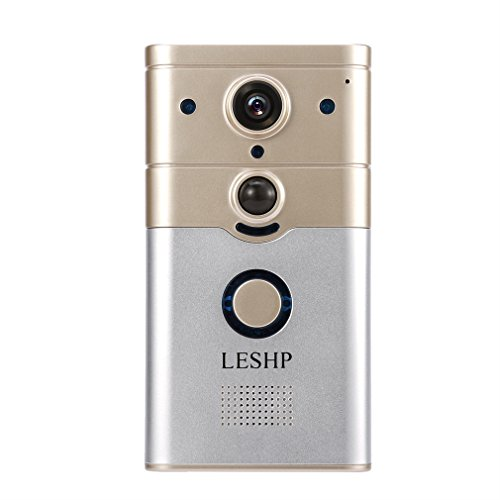 Read About LESHP Wireless Wi-Fi Video Smart Doorbell Remote Control Electronic Visible HD 720P Video...