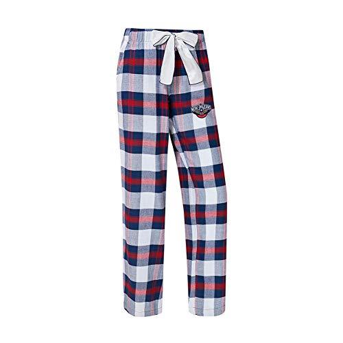 New Plaid Pants - Concepts Sport New Orleans Pelicans Women's Flannel Pajamas Plaid PJ Bottoms (Large)