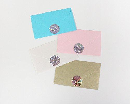 ly invitation seals dot stickers round 1