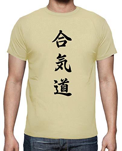 Uomo Crema T shirt Tostadora Aikido wOtp6Wg