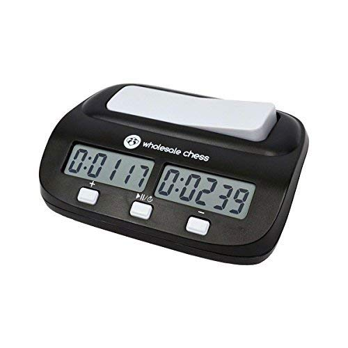 Wholesale Chess Basic Digital Chess Clock & Game Timer with Bonus and Delay by Wholesale Chess