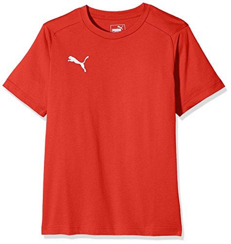 shirt Liga Casuals Blanc puma T Enfant Rouge Puma xq7w7