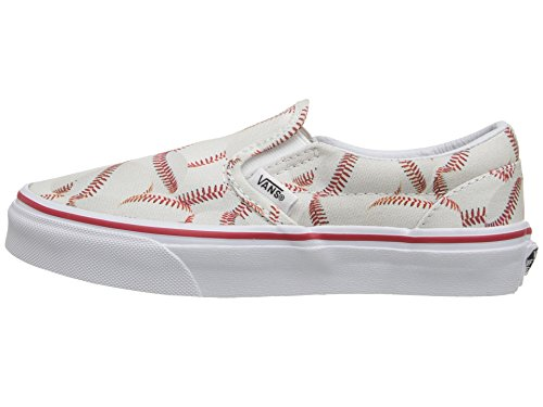 Vans Kids Sports Slip-on Shoe (11.5 Little Kid M, Baseball/Red) - Image 5