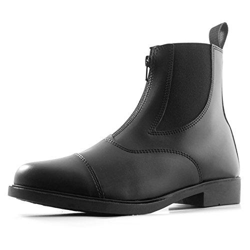 Indispensable Darwen Pantalon Jodhpur pour femme bottes d'équitation pour femme Noir Equestrian Chaussures