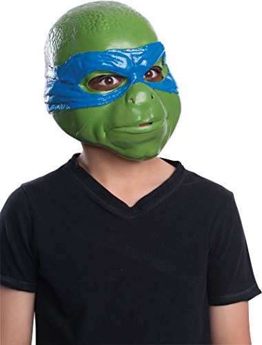 Rubies Teenage Mutant Ninja Turtles Movie Leonardo Child 3/4 Child Mask (Ninja Turtles Movie Mask)