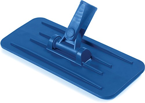 "Carlisle 36538014 Flo-Pac Plastic Swivel Pad Holder, 9-1/4"" L x 3.63"" W Plate Size, Blue (Case of 12)"